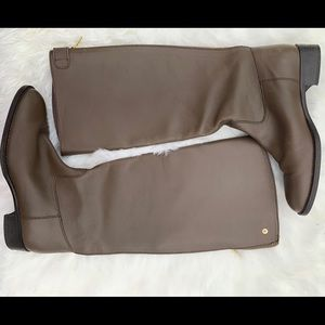 J.Crew leather brown boots size 8